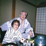 湯河原にて(93才)