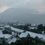 雪の湯布院