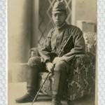 軍服姿の父親 (大日本帝国陸軍 軍服姿)